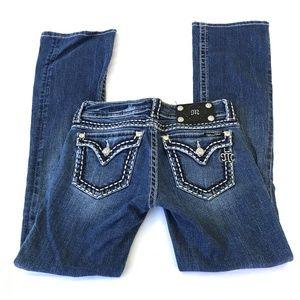 Miss Me Women's Jeans Boot Cut Medium Wash